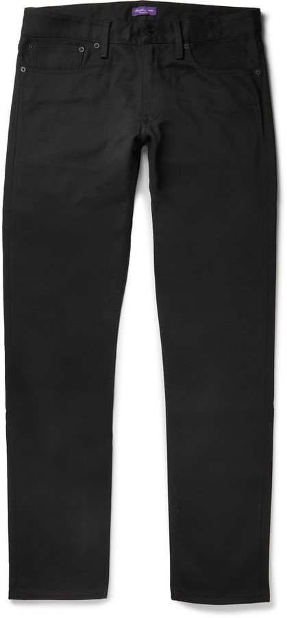 Ralph Lauren Purple Label Ralph Lauren Purple Label Slim-Fit Denim Jeans