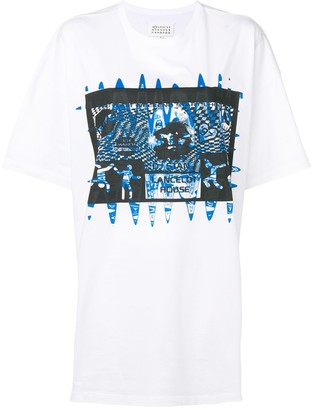 Maison Margiela oversized graphic print T-shirt