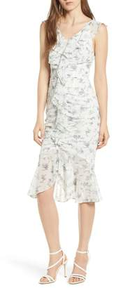 4SI3NNA Ruched Front Dress
