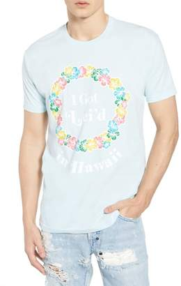 Kid Dangerous Lei'd in Hawaii Graphic T-Shirt