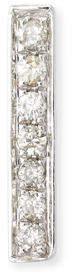 Sydney Evan Small 14k Gold Diamond Bar Single Stud Earring