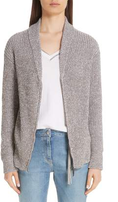 Fabiana Filippi Metallic Knit Cardigan