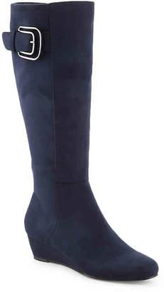 Impo Geela Wide Calf Wedge Boot - Women's