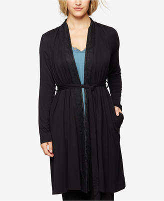 A Pea In The Pod Nursing Belted Robe $58 thestylecure.com