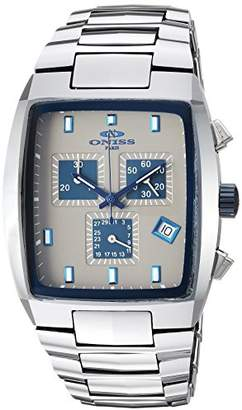 Oasis Oniss Paris Men's 'OASIS COLLECTION' Swiss Quartz and Tungsten Sport Watch