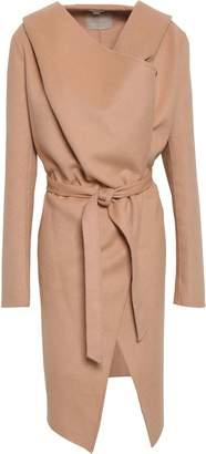 Soia & Kyo Wool-blend Felt Hooded Coat