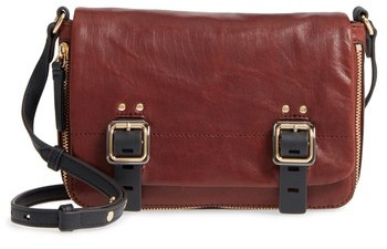 Vince Camuto Delos Leather Crossbody Bag - Brown