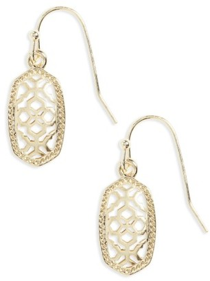 Women's Kendra Scott Lee Small Filigree Drop Earring. $55 thestylecure.com