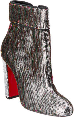 Christian Louboutin Moulamax 100 Sequin Ankle Boot