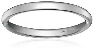 Standard Comfort-Fit 14K Gold Band