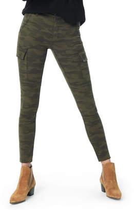 Joe's Jeans The Charlie Raw-Hem Skinny Camo Cargo Jeans
