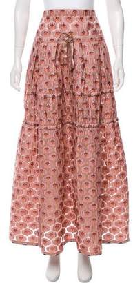 Marc Jacobs Jacquard Maxi Skirt