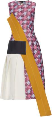 Marni Plaid Sleeveless Dress
