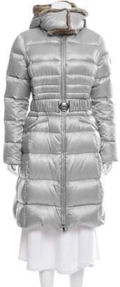 Dawn Levy Fur-Trimmed Down Coat