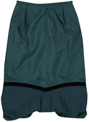 Louis Vuitton Green Silk Skirts