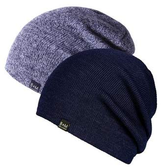 Bickley + Mitchell Slouch Beanie - Set of 2