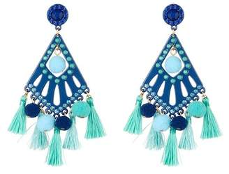 Rebecca Minkoff Cha-Cha Statement Chandelier Earrings