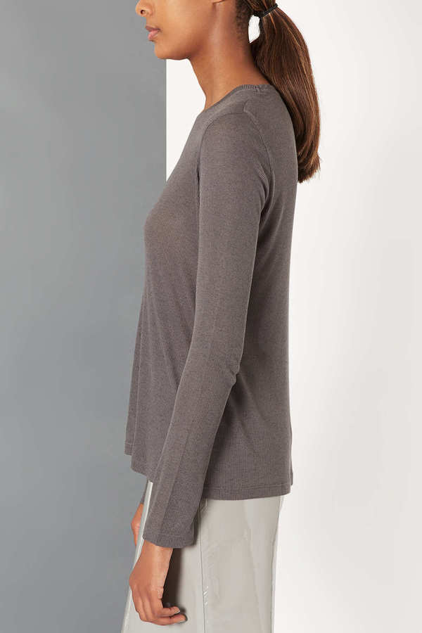 Topshop Ribbed Longsleeve Tee by Boutique