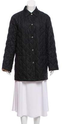 Salvatore Ferragamo Quilted Silk Jacket