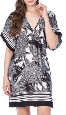 Lauren Ralph Lauren Graphic Floral Printed Tunic