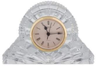 Beautiful Waterford Crystal Desk Clock