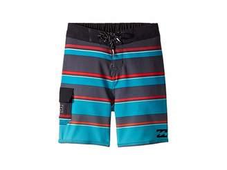 Billabong Kids All Day X Stripe Boardshorts (Toddler/Little Kids)