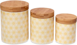 Certified International 6-Pc. Chelsea Daisy Dots Canisters Mix & Match Set