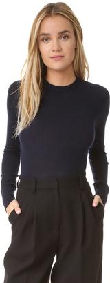 DKNY Merino Wool Sweater Bodysuit $358 thestylecure.com