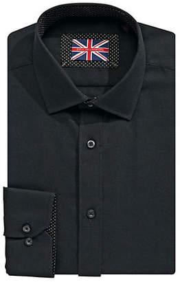 SOUL OF LONDON Textured Dress Shirt
