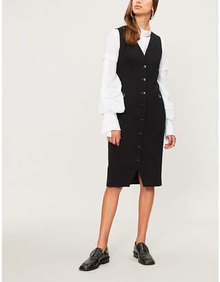 Altuzarra Naomi button-down stretch-crepe dress