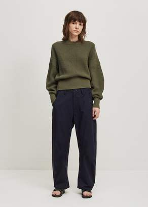 Y's U-Gusset Wide Pants Navy