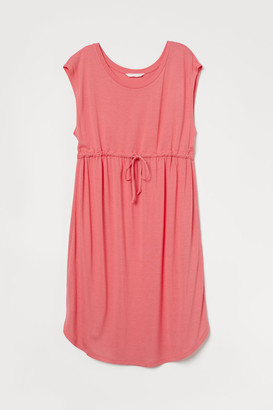 H&M MAMA Jersey Dress - Red
