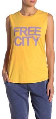 Freecity Free City Graphic Muscle Tank