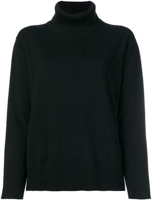 Fabiana Filippi glitter turtleneck jumper