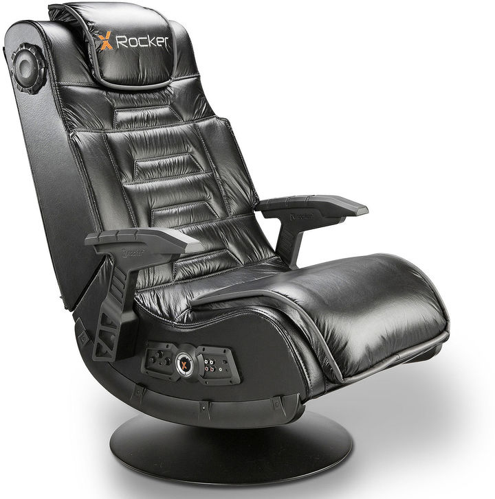 ACE BAYOU X-Rocker Pro Series Pedestal Audio Gaming Chair