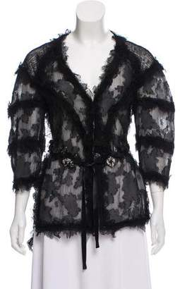 Chanel Silk Tulle Jacket w/ Tags