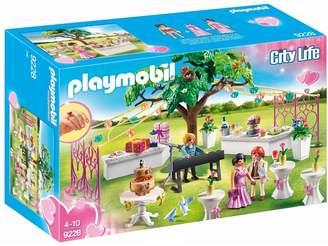 Playmobil 9228 City Life Wedding Reception with Children's Wedding Ring