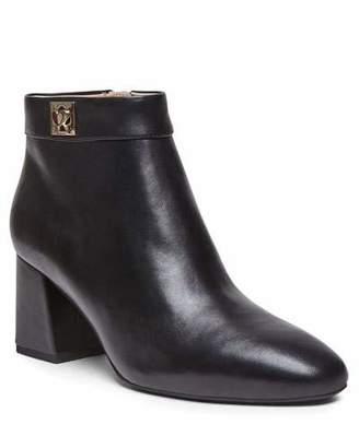 Kate Spade Adalyn Block-Heel Leather Booties
