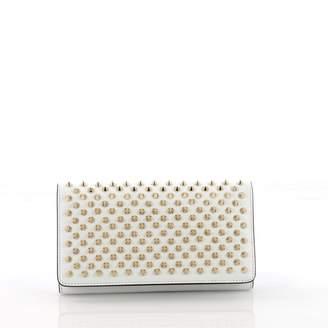 Christian Louboutin White Leather Wallets