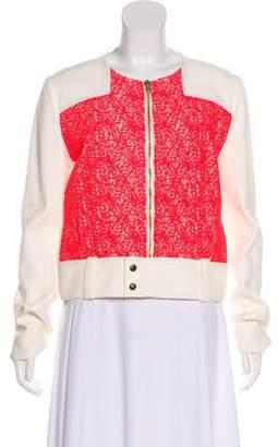 Roland Mouret Embellished Zip-Up Jacket