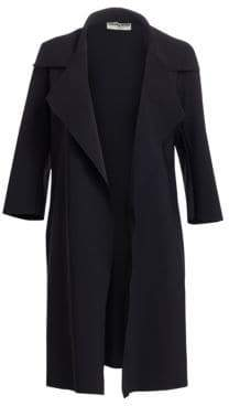 Chiara Boni Women's Saveria Trench Coat - Black - Size 10