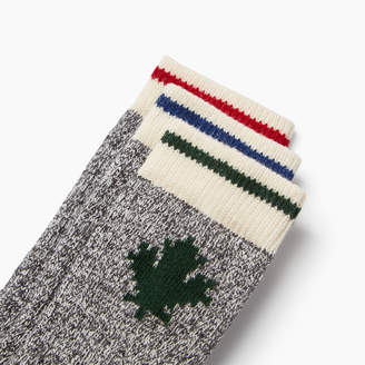 Roots Toddler Maple Cabin Sock 3 Pack