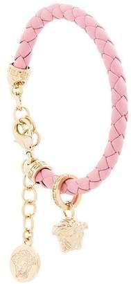 Versace woven Medusa bracelet