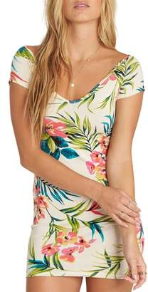 Billabong Babe Alert Print Minidress