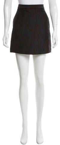 3.1 Phillip Lim3.1 Phillip Lim Jacquard Mini Skirt