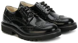 Montelpare Tradition teen varnished oxford shoes