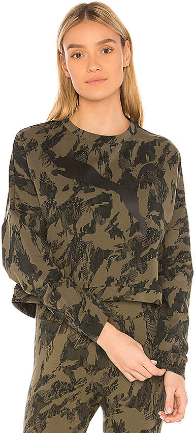 Rebel Cropped Sweatshirt