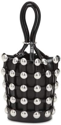 Alexander Wang Mini Roxy Cage Bucket Leather Bag