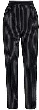 Dolce & Gabbana Women's Striped Cropped Trousers
