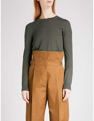 N. Fine-knit cashmere-blend jumper